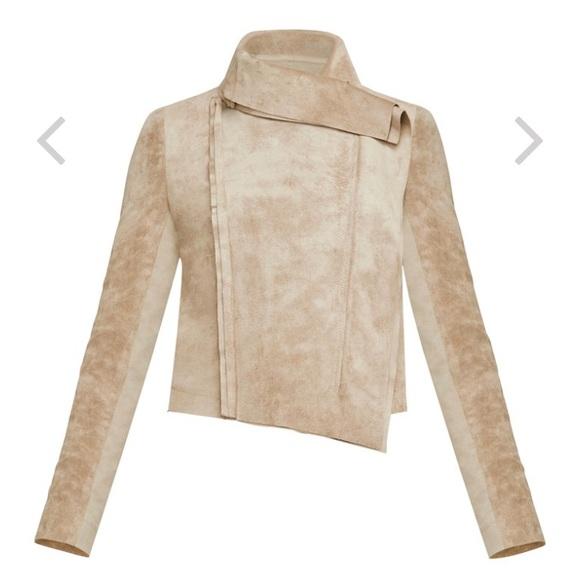 BCBGMaxAzria Jackets & Blazers - Ana faux suede jacket BCBG new with out tags